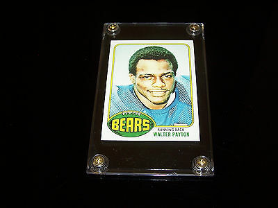 + ( Walter Payton ) 1976 T #148 Football Rp Rookie Cards...  Slabbed Down...