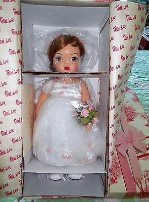 "Mint 16"" TERRI LEE MILLENNIUM BRIDE DOLL Knickerbocker NRFB COA 560/5000"