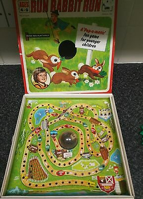 RUN RABBIT RUN board game vintage retro