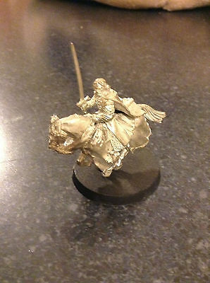 Aragorn King of Gondor on a horse metal model Lord of the Rings Games Workshop