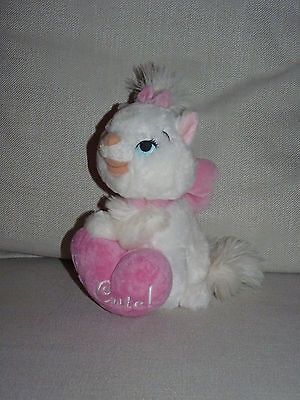 Disney Marie Les Aristochats Peluche Disneyland Resort Paris