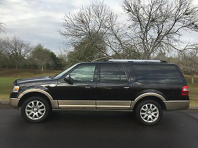 2014 Ford Expedition EL King Ranch Sport Utility 4-Door 2014 Ford Expedition EL King Ranch 4X4 V8 23k miles Excellent Condition all keys