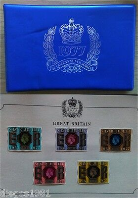 The queen's silver jubilee 1977-complete stamp album, british commonwelth stamps