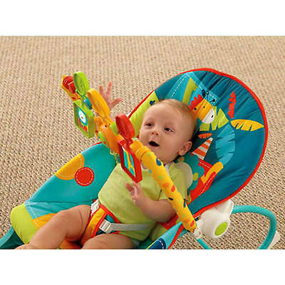baby Fisher-Price Infant to Toddler Rocker Sleeper, Safari Pattern new born seat