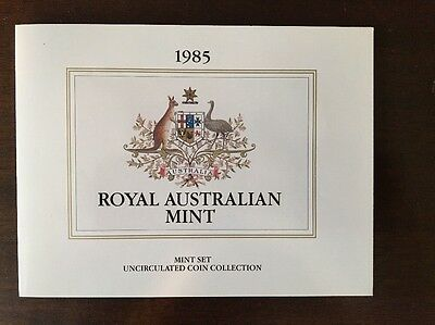 1985 Royal Australian Mint Set!! Original Packaging!