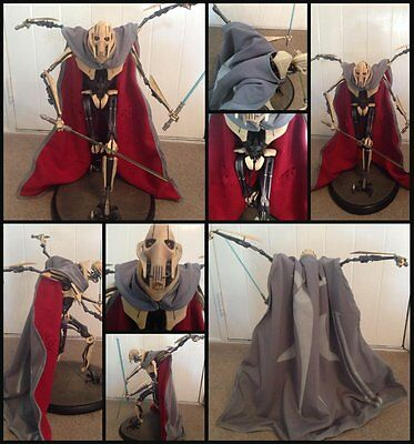"""Star Wars Custom """"Cloak Only"""" for General Grievous Sideshow for 1/6 scale Statue"""
