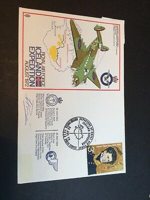 Iceland Expedition Signed Cover 1972 (4422)