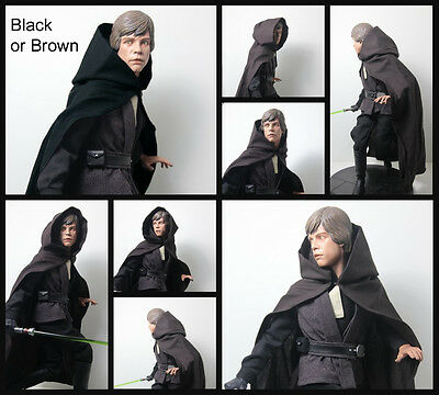 Star Wars Custom Jedi Robe ONLY ! for Sideshow Luke for 1/6 scale Statue choose