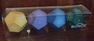 Destiny Engram Stress Ball Set, New, Boxed - Rare Official Collectors Bungie