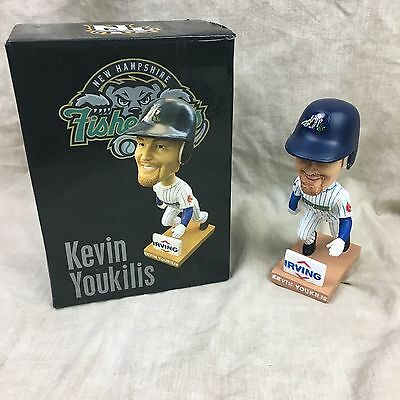 Kevin Youkilis Bobblehead NH Fisher Cats  New In box