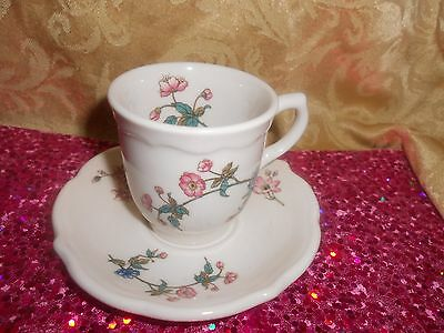 Grand Opening Sale! Syracuse China! Summerdale Miniature Cup & Saucer!