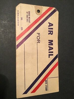 Air Mail Luggage Label (4431)