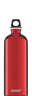 Classic Sigg bottle 1.0 litre in red