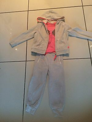 Girls Billy Blush 3 Piece Tracksuit Age 5