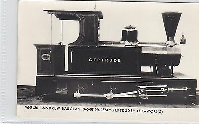 D2  Welsh Highland Railway: Andrew Barclay 0-6-0T Gertrude Steam Loco