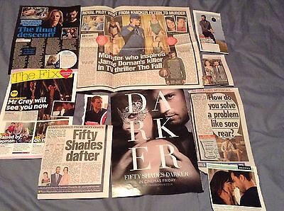 Jamie Dornan *Fifty Shades Darker* - Clippings/Cuttings/Articles