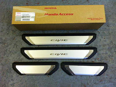Genuine Honda Civic Door Step / Sill Protectors 2012-2016