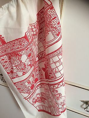 """Large Draw String Linen Toy Sack. Approx Size 22""""x19"""""""