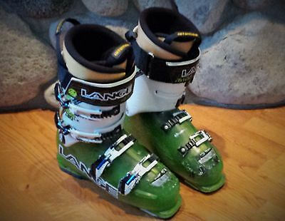 Lange RX 130 LV Ski Boots with Intuition Liners, size 27.5