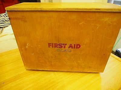 Vintage - First Aid Case (some contents unopened)