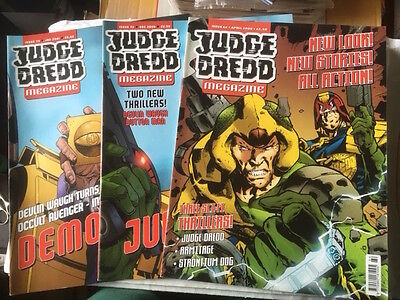 Judge Dredd Megazines Volume 3 Back Issues All Are £1 Each - All Ex Cond 2000Ad