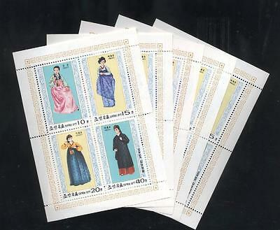 (936940) 5x Folklore, Costumes, Small lot, Cloth,