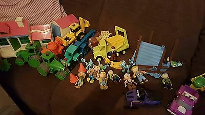 Bob The Builder Playset Road Track Building Figures Vehicles