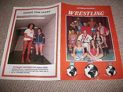 1980's British wrestling magazine (Orig Williams, Mighty Chang, Big Daddy, etc)