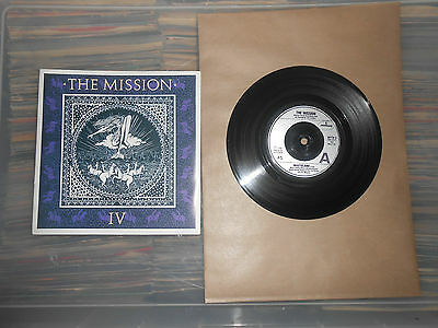 THE MISSION   WASTELAND    7inch VINYL