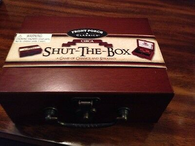 New Shut The Box Game, A Game Of Chance And Strategy