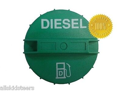 New Holland Diesel Fuel Cap C175 C185 C190 Skid Steer Loader Tank Green Gas