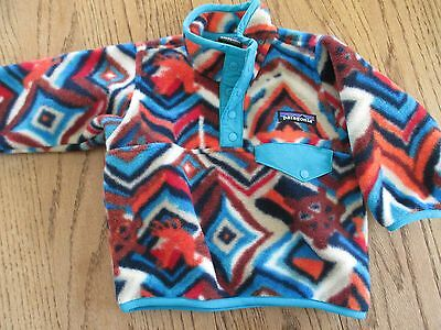 Patagonia Baby Snap-T Fleece Jacket 3-6 M, BOY, GIRL, EXCELLENT