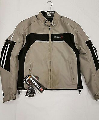 Speed X  Motorcycle Jacket Motorbike Jacket Size Us Large Eu 50/52