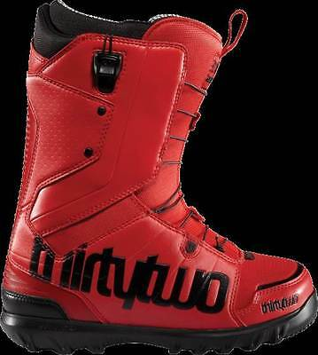 ThirtyTwo 32 Lashed Mens Snowboard Boots Red FastTrack UK8 NEW RRP£185