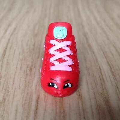 Shopkins Season 2 Rare Sneaky Sue Red Trainer Shoe Combined Postage