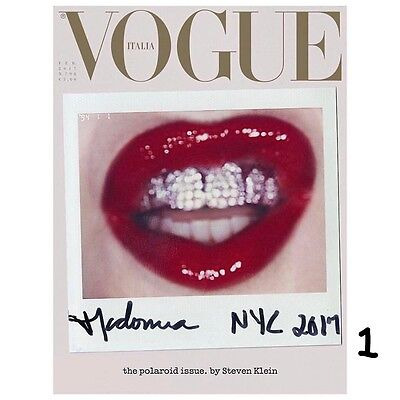 VOGUE ITALIA February 2017 MADONNA by Steven Meisel COVER 1 PRE-ORDER NEW