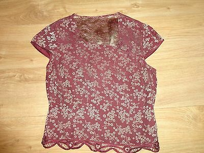Vintage Chinese Type Top 1920's/1940's Size 12