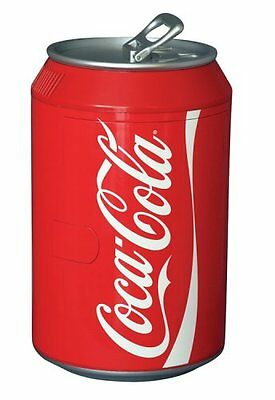 Coca Cola CC10G 8-Can Capacity Can Shaped Fridge, Red