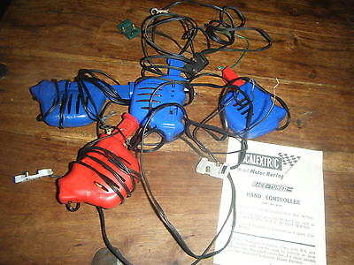 Vintage Scalextric Race Tuned Hand Controllers Lot A/262