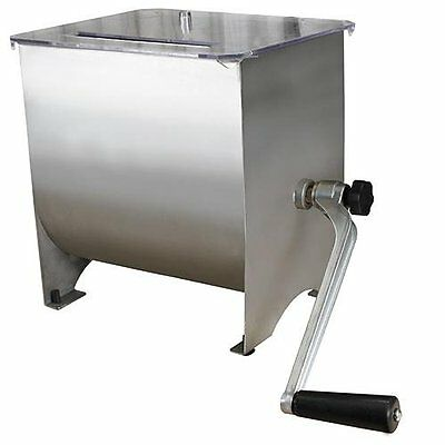 Weston 36-1901-W Stainless Steel Meat Mixer, 20-Pound