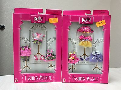 BARBIE Kelly Fashion Avenue Outfit Accessory Summer Clothes Kit Pink Doll NEW