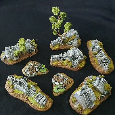 Games Workshop The Lord of the Rings Game Scenery Pillar Ruins - Painted
