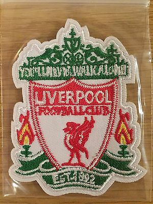 Joblot - 10 x Liverpool FC Crest logo Iron on Badge Brand New Sew Patch Football