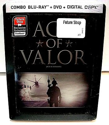 Act Of Valor from Canada* Future Shop blu-ray steelbook.New and sealed.