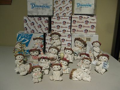 Lot C of 19 Dreamsicles - Some in boxes By Kristin and Cast Art Industries Inc