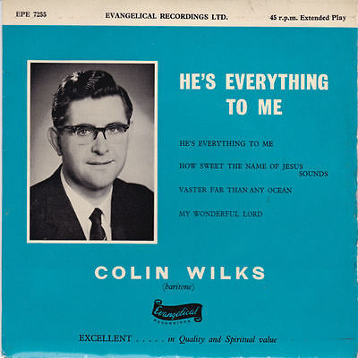 Colin Wilks - He's Everything To Me 7""
