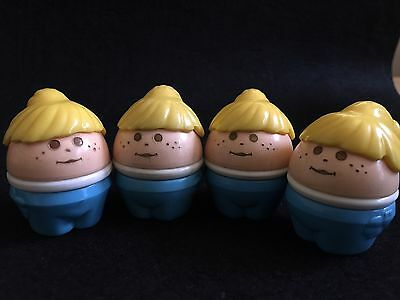 Vintage Little Tikes Toddle Tots Girls Set Of 4 Chunky Kids Toddler Toys
