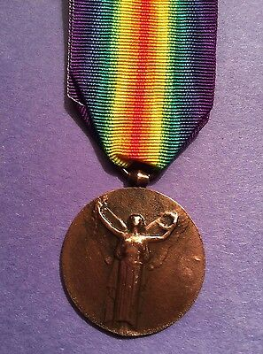 French World War I  Victory Medal  1914-1918