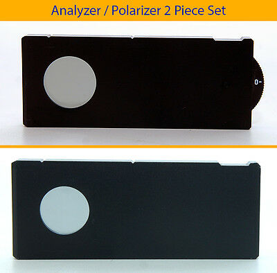 Mitutoyo Polarizer/Rot. Analyzer Set Cross Polarization POL DIC M BD G PLAN APO