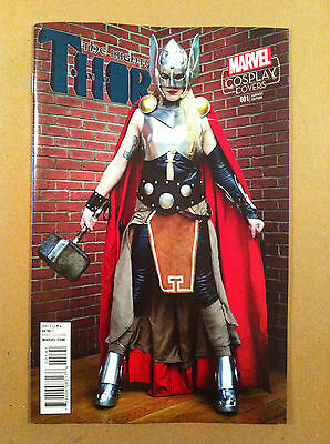 Mighty Thor (2015) #1 Cosplay 1:15 Photo Variant Nm 1St Printing Jason Aaron